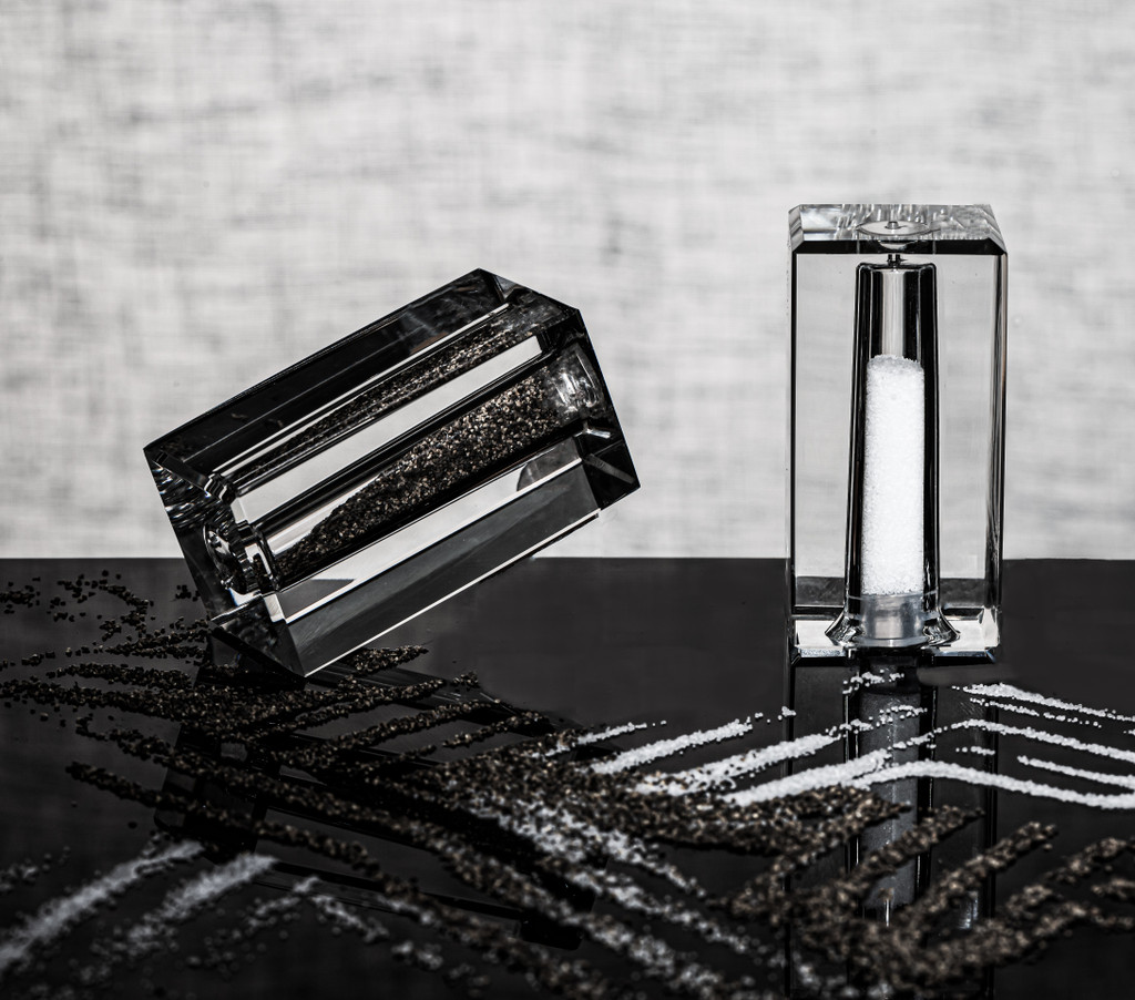 Personalized Salt and Pepper Set