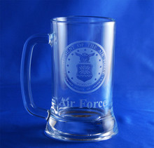 Personalized U.S Air Force Seal Roadhouse Mug