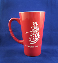 Engraved Doctor Who Dalek Exterminate! Mug