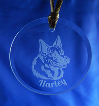 Personalized Round Pet Ornament