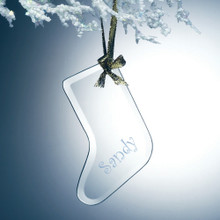 Personalized Flat Stocking Ornament