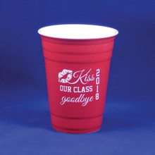 Kiss Our Class Goodbye Graduation Red Solo Cup