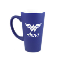 Personalized Blue Wonder Woman Mug