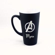 Personalized Black Marvel's Avengers Mug