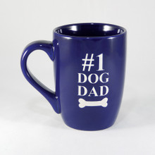 #1 Dog Dad Coffee Mug