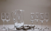 Dimples 7-Piece Drinks Set   The Crystal Shoppe