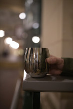 Stainless Stemless Unbreakable Etched Wine Tumblers by Oggi