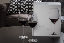 Personalized Marquis Moments Red Wine glasses (set of 4)