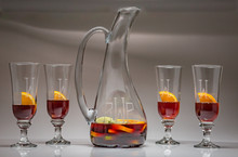 Personalized 5 piece Sangria Set
