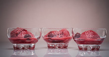 Personalized Crystal Dessert Dishes