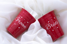 Bride and Groom Solo Cups