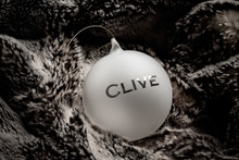 Personalized 100mm Ornament