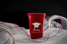 Personalized Graduation Red Solo # Done