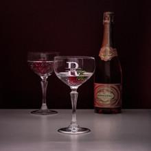 Personalized Cagliari Coupe Champagne Glasses