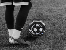 Soccer paperweight