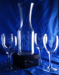 Personalized Excellence Wine Carafe Set