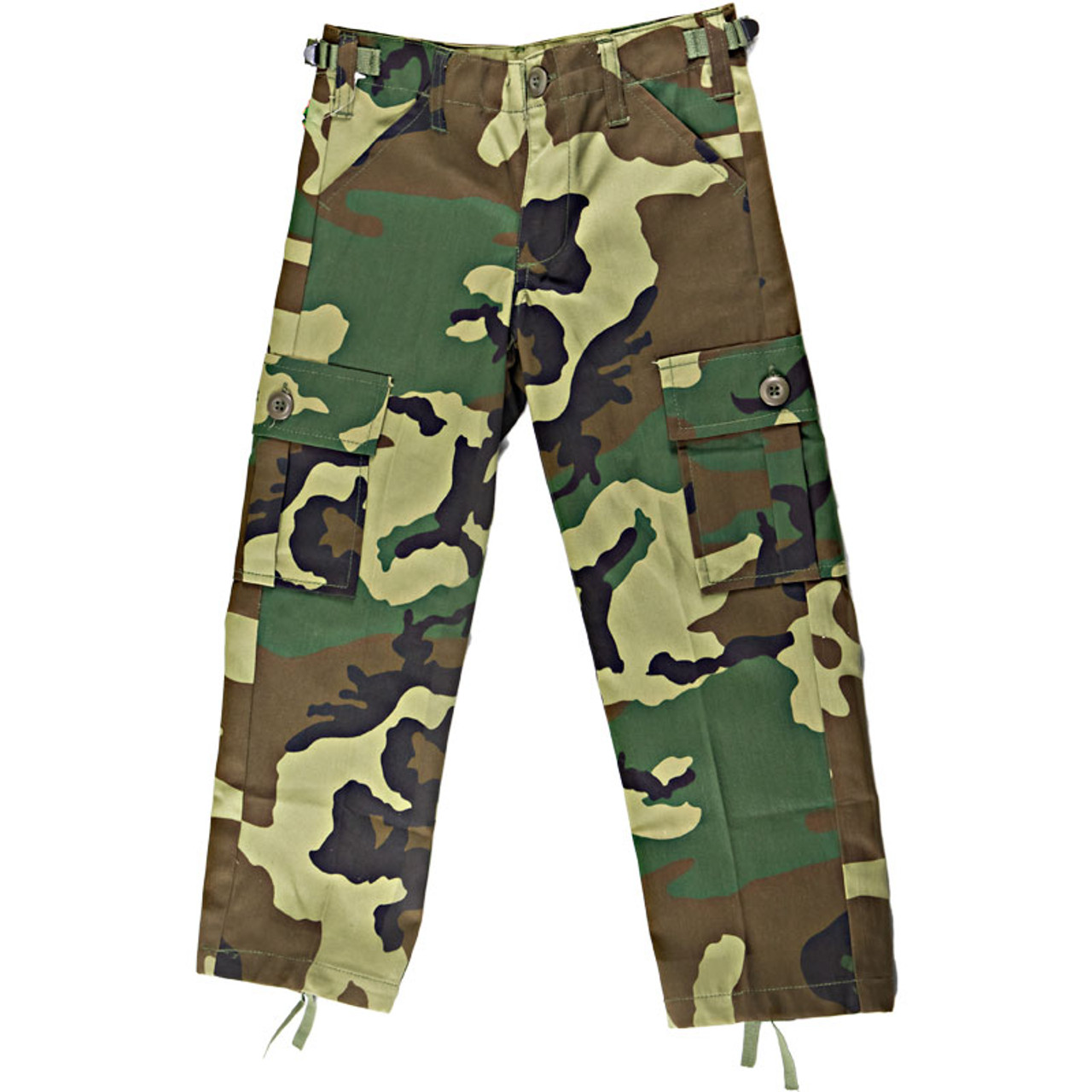 best prices really comfortable most popular Kids BDU Pants - Woodland Camo