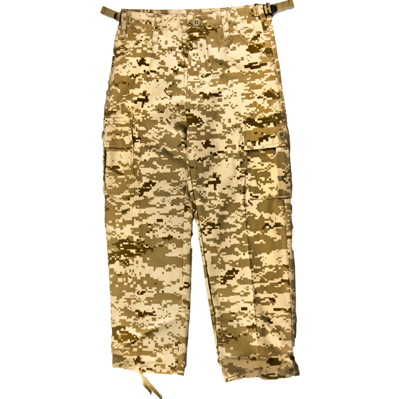 Kids Desert Pattern Camouflage Combat Trousers All Sizes