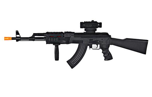 Sawed-Off Shotgun /& KG-9 J Cap Gun Set 3x Toy Guns Electronic M1 Toy Rifle