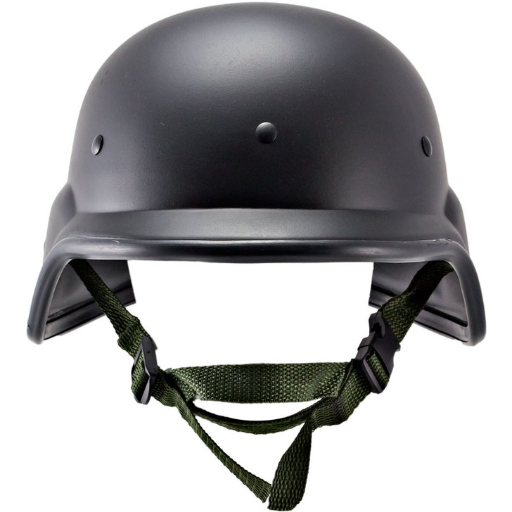Kids Black US PASGT M88 Helmet - Front
