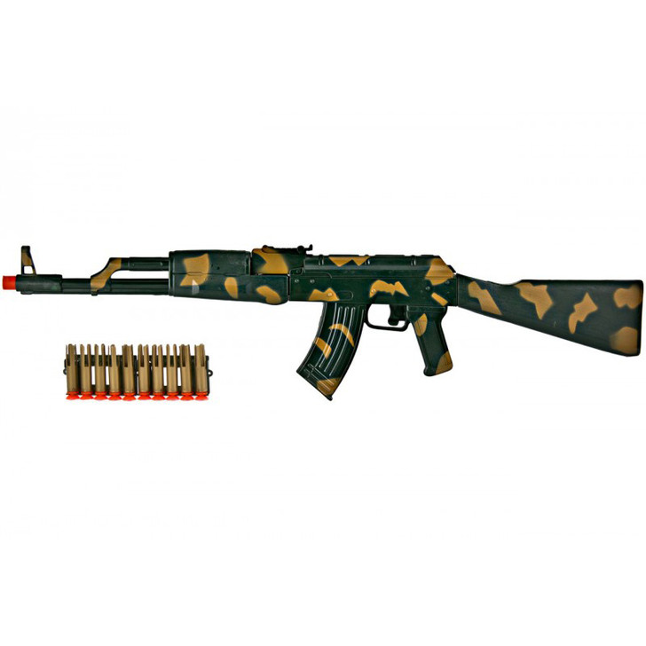 Toy AK-47 Dart Rifle