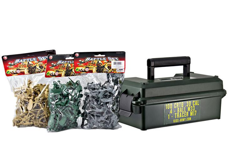 160 Piece Soldier Set
