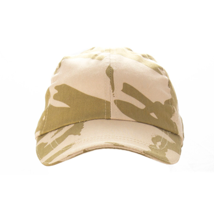 Desert Camo Cap - Front