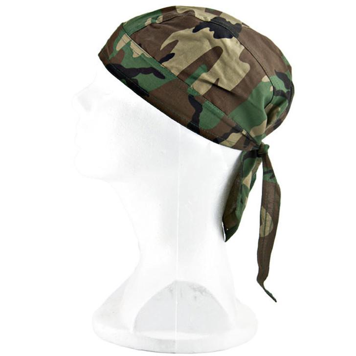 Kids Army-Style Bandana - Woodland Camo