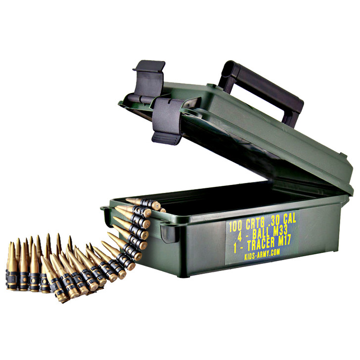 Bullets in an Ammo Can
