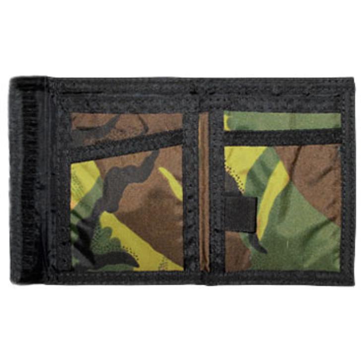 Woodland Camo Wallet