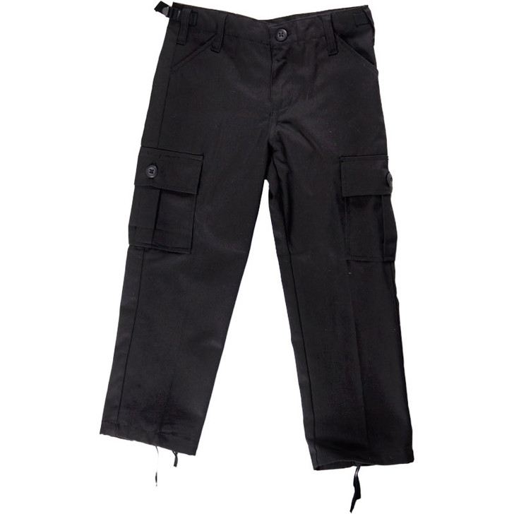 Kids BDU Pants - Black