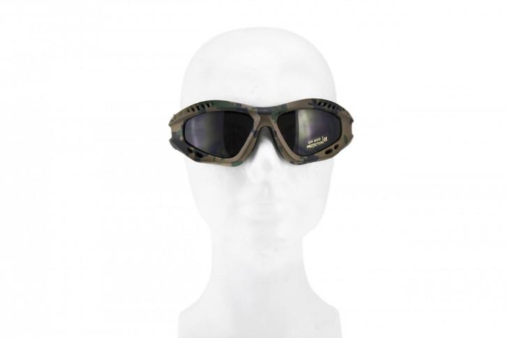 Sportac Goggle Glasses - Woodland Digital