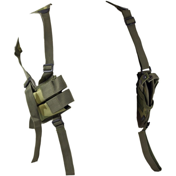 Woodland Camo Shoulder Holster - Clip Pouch