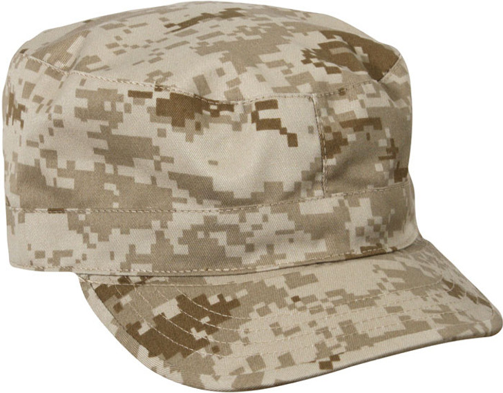 Kids Military Drill Cap - Desert Digital Camo
