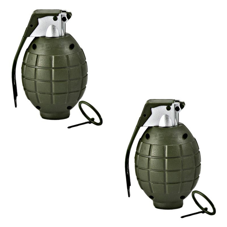 Toy Hand Grenades - Set of 2