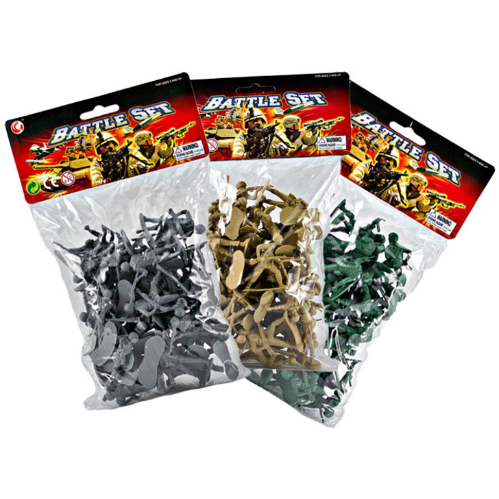 Toy Soldiers - 160 Count