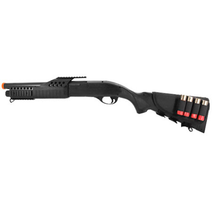 Full Scale Pump-Action Airsoft Shotgun with Shells