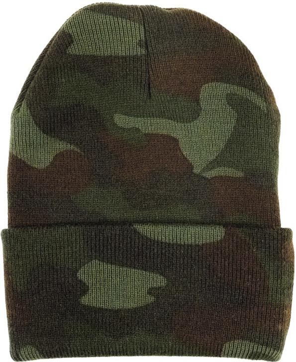 Acrylic Watch Cap - Woodland Camouflage