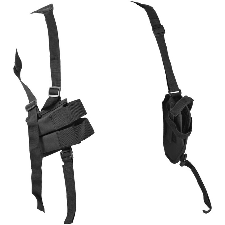 Black Shoulder Holster - Clip Pouch