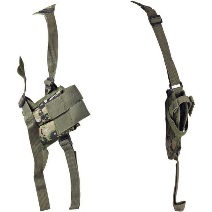 Woodland Digital Single-Draw Shoulder Holster - Clip Pouch
