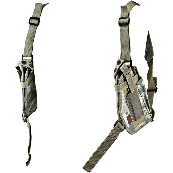 ACU Digital Double Draw Shoulder Holster - Left Side