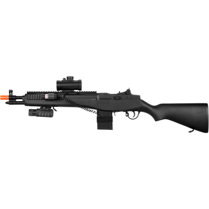M14 Sniper Rifle with Scope and Laser