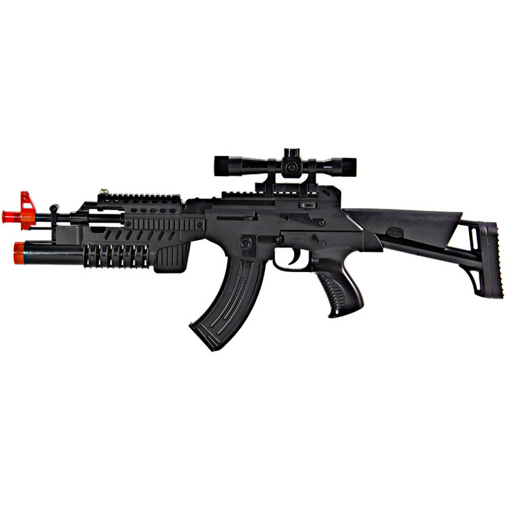 AK47 Lights and Sounds with Scope