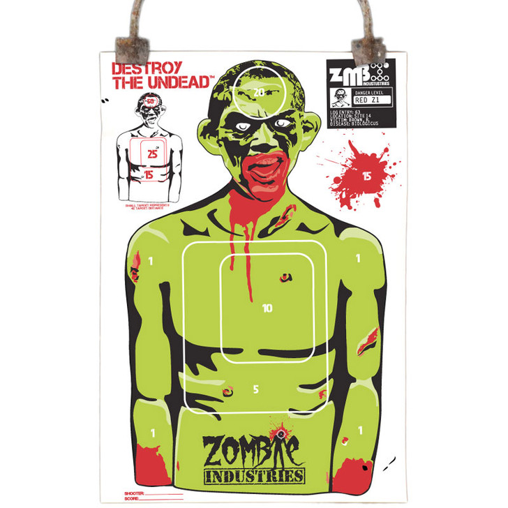 Colossal Paper Shooting Target - Zombie Rocky