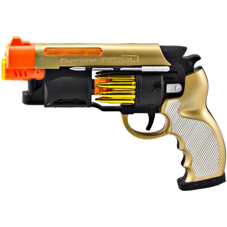 Dual Lights & Sounds Machine Pistols
