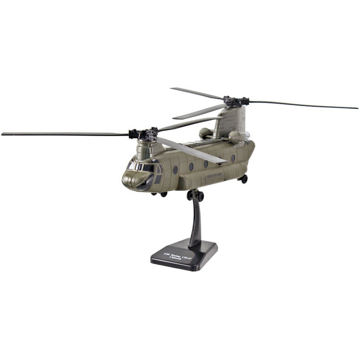 Die-Cast CH-47 Chinook Helicopter