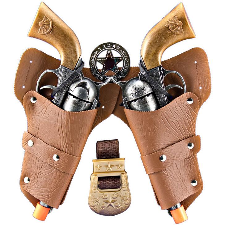 Texas Ranger Duel Holster Cap Gun Set