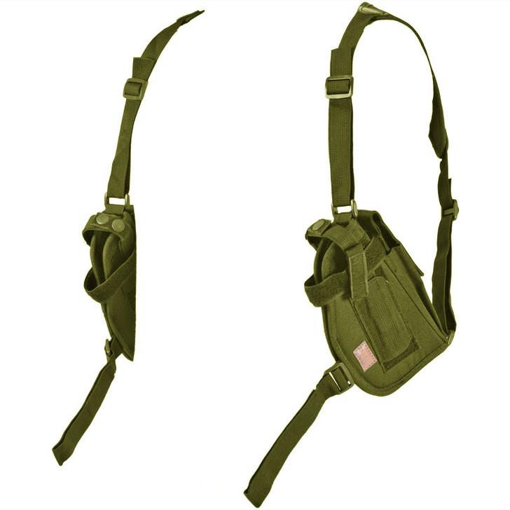 Olive Drab Double Draw Shoulder Holster - Left Side