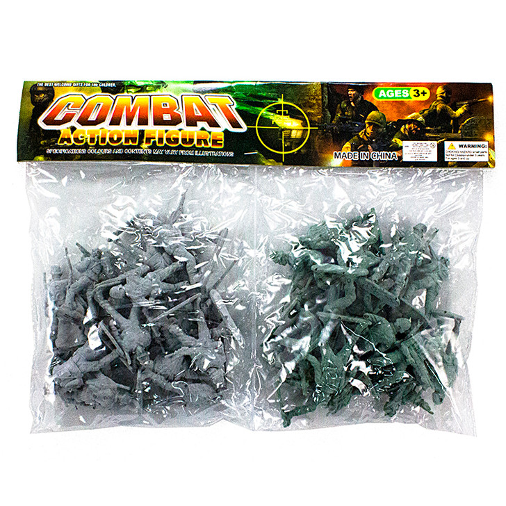Toy Soldiers - 34 Count