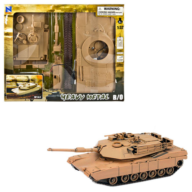 Battery Powered Model Tank Kit - Tan